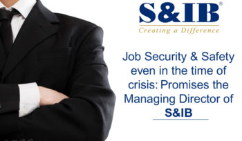 01 BLOG FB 13.4 1 - Job Security & Safety even in the time of crisis: Promises the Managing Director of S&IB Over two decades, S&IB has been deeply engaged in community work. The present COVID-19 situation has called all corporate citizens to take an effort in helping the government to fight against this pandemic to save the nation and its people. The Managing Director of S&IB contributed an amount of 5 lakh rupees to the Chief Minister Emergency Relief Fund and an amount of 50,000 rupees to the Ramkrishna Math. Furthermore, the administrative staffs of the company voluntarily contributed their one day's salary to a relief fund to help those struggling with uncertainty & poverty.