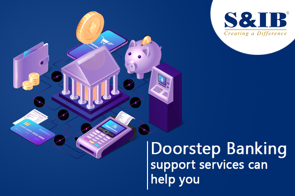 19.5.2020 - Doorstep Banking support services can help you As the world is adjusting itself at the face of the pandemic, it is additionally altering our banking systems accordingly. Doorstep banking services are becoming a favourable alternative for every individual in such situations. However, irrespective of the available regulator's advisory for banking sectors to offer doorstep assistance for senior nationals and differently-abled citizens, it is yet hard to find a reliable and convenient doorstep banking support providers.