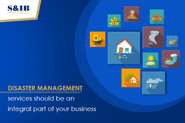blog banner 1 - Disaster management services should be an integral part of your business Running a business is easier said than done. Who understands that better than an entrepreneur? While securing the success of the company, one additionally has to ensure the security and safety of its employees and commercial properties alike.