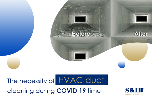 blog banner2 - The necessity of HVAC duct cleaning during COVID 19 time The recent outbreak of the novel coronavirus has forced the population around the world to stay within the safe confines of their homes. With schools shut down and offices encouraging their employees to work from home to adhere to the social distancing directives as given by the authorities and health officials, it is imperative to ensure the convenience and comfort of a home. Besides, public places and commercial and corporate houses that have started functioning anew also suggest the necessity to secure greater health security and safety at such premises.